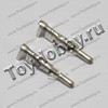 "Набор контактов Tamiya ""папа"", 2 шт. Tamiya Male Pins Only (DLR1065)"