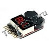 Тестер аккумуляторов 3.7V-30V 1-8s LiPo Battery Low Voltage Buzzer Tester Alarm (THP-LiPoTester1-8)